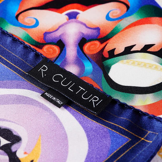 R. Culturi Bound by Culture Pocket Square