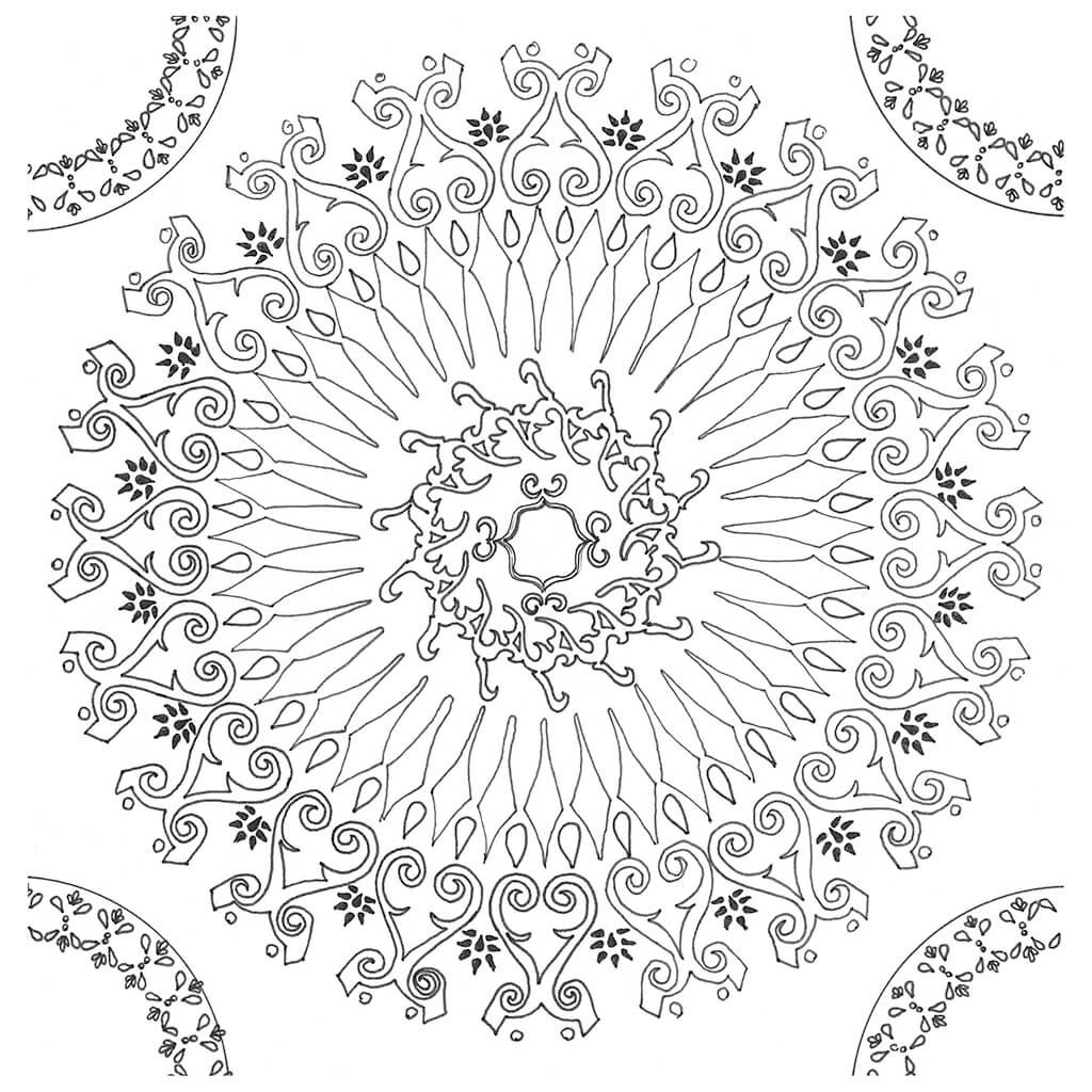 Orquestra Mandala Original Artwork