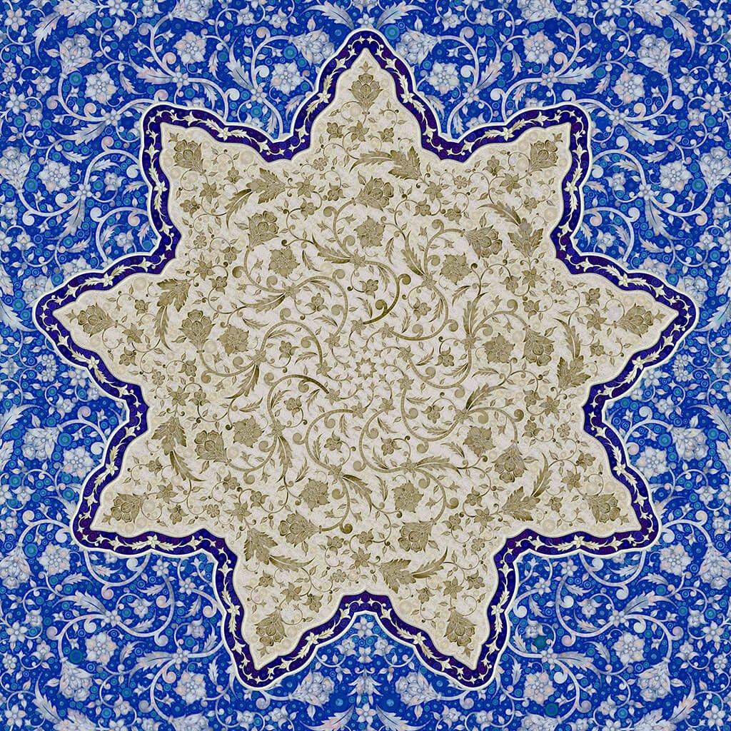 R Culturi Impressions of the Orient Scarf Original Artwork
