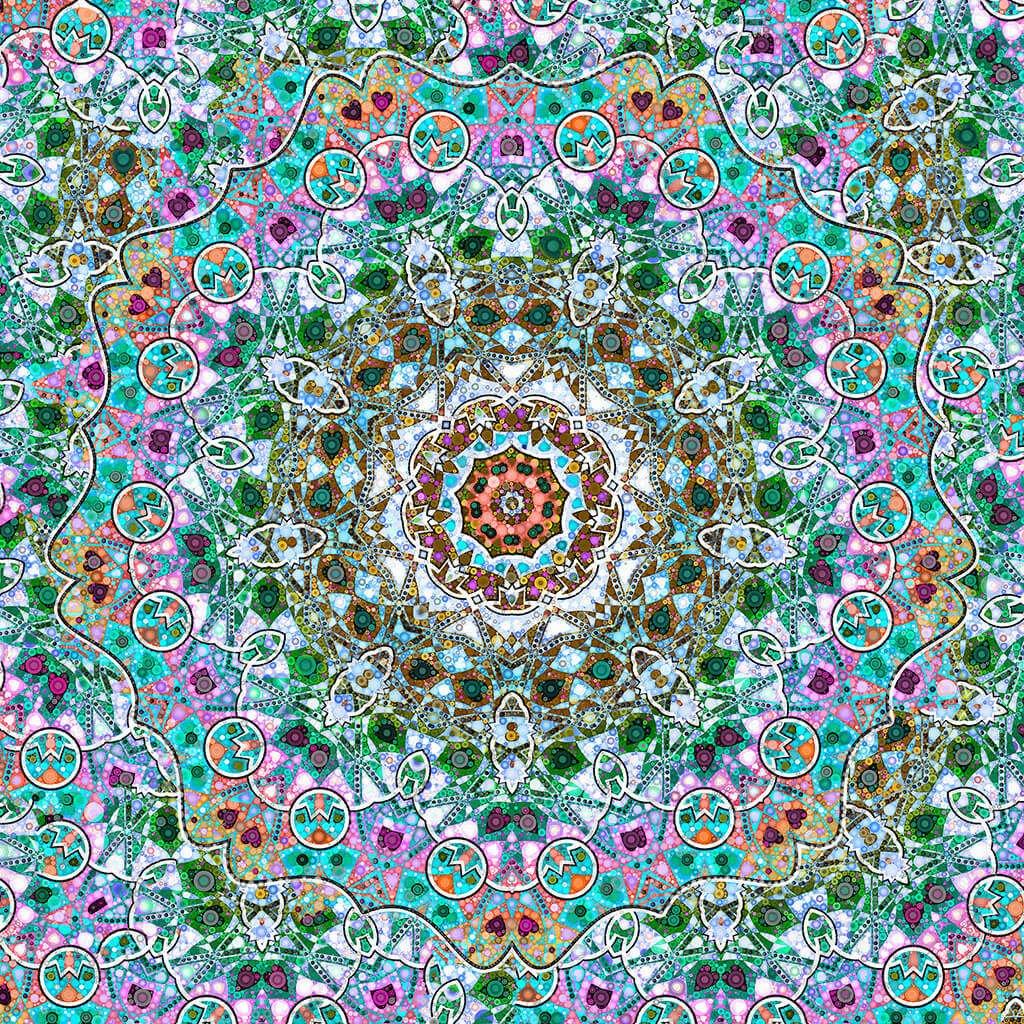 R Culturi Hearts in Transition Scarf Original Artwork