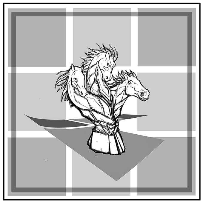 R. Culturi Knight's Move Pocket Square Draft 3
