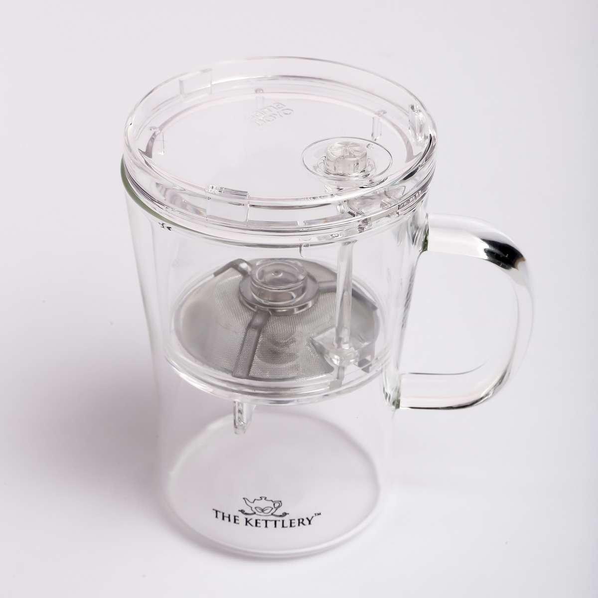 Smart Office Tea Cup for Herbal Tea Brewing