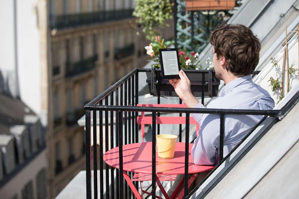 Cybook Muse  en extérieur Photo de Philippe Cap