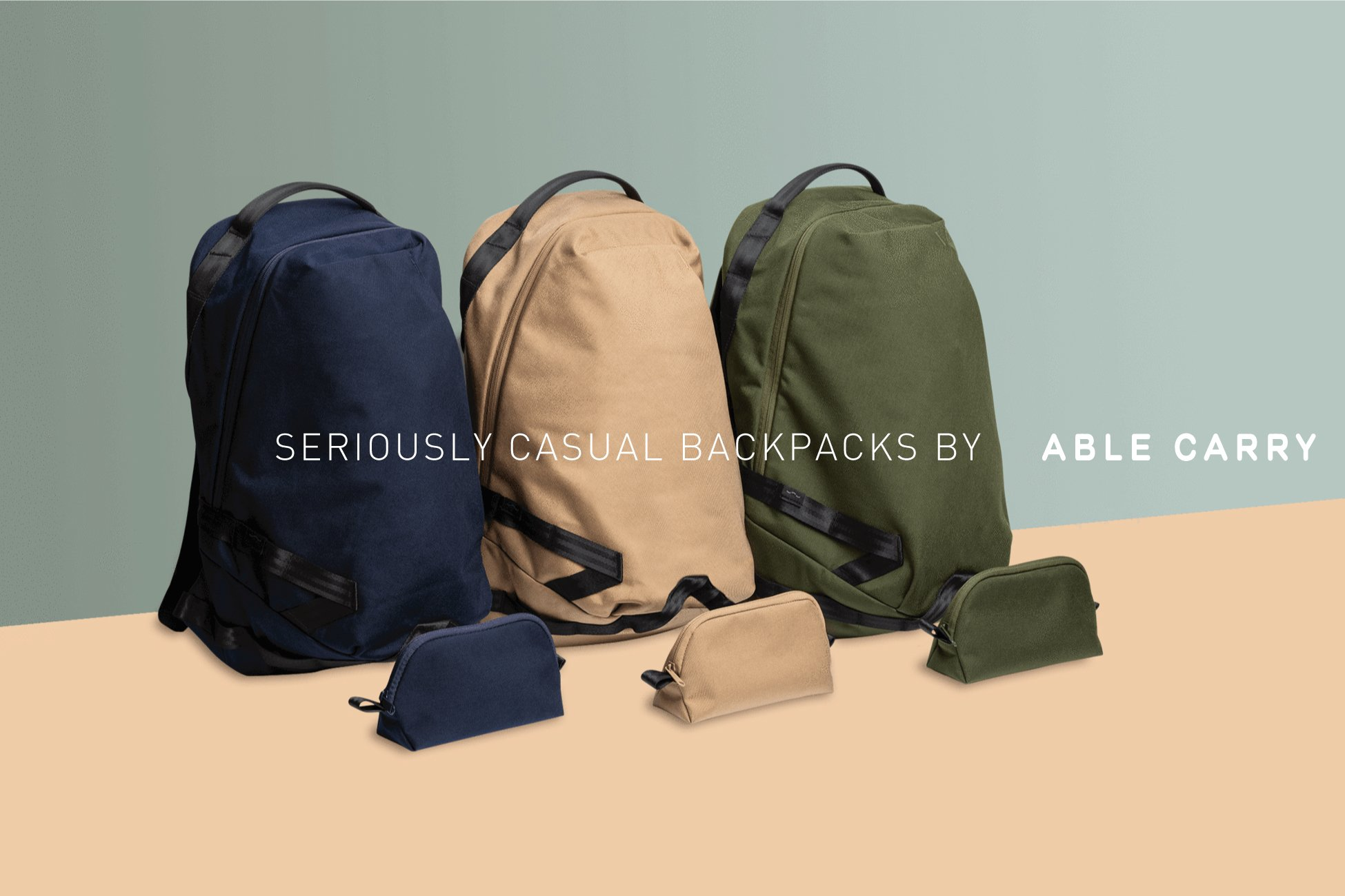 78e6a7023b The Daily Backpack by Able Carry – The Bag Creature