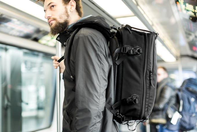 Black Ember   The V4 Modular Travel Backpack