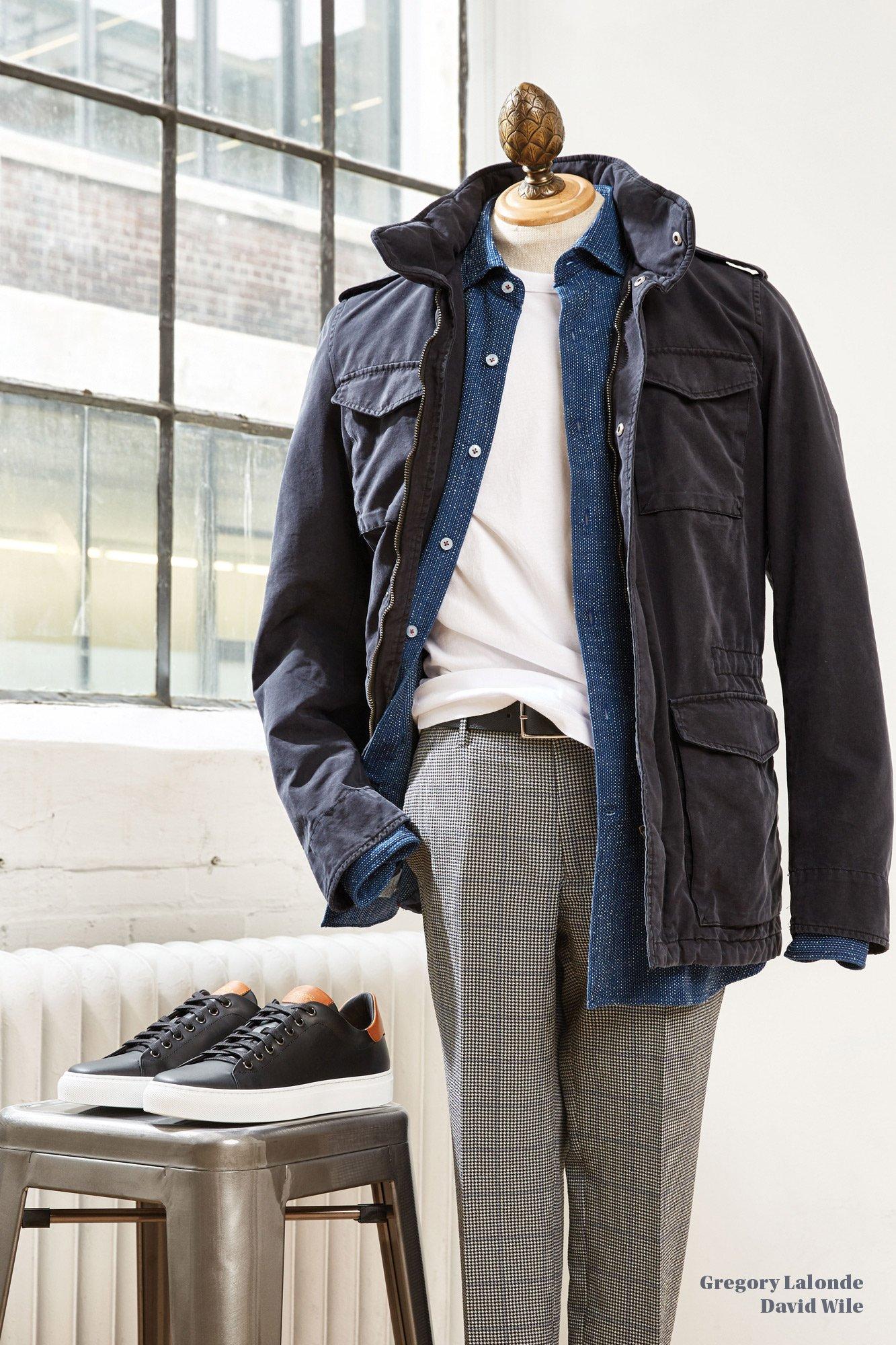 Herno Field Coat Echizenya Pants Goodman Sneakers