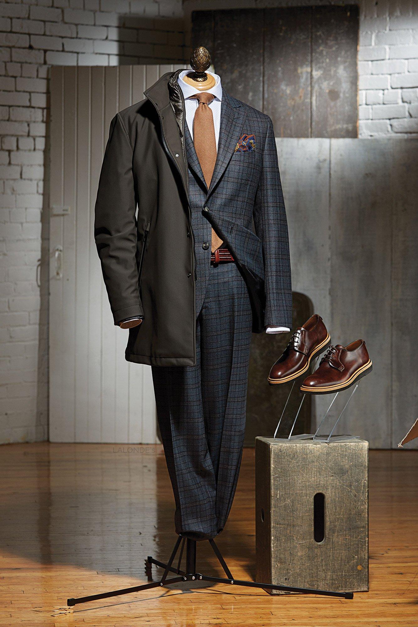 FW17 DRESSY - Boglioli & Montecore Outfit - LALONDE's