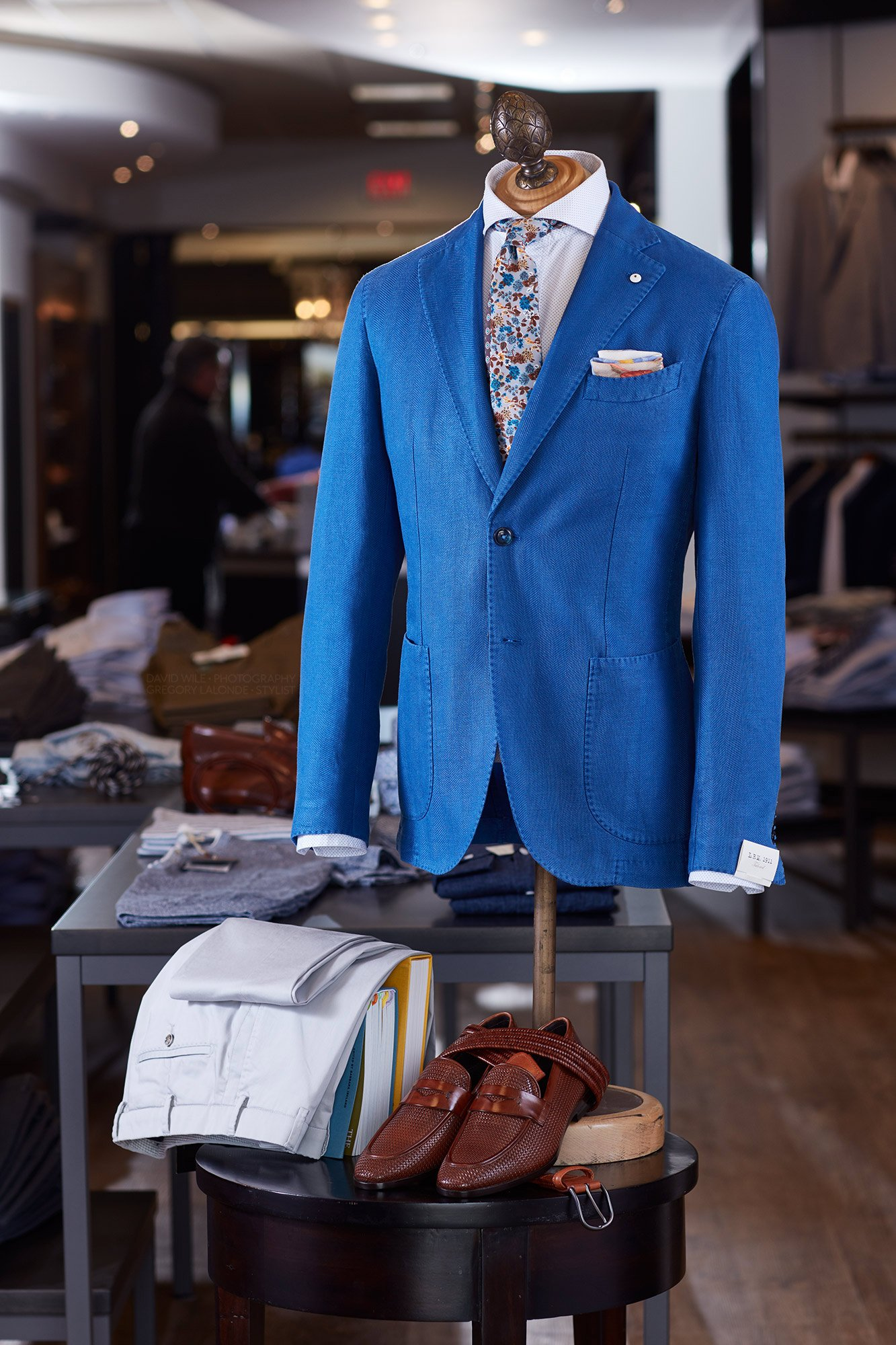 LBM 1911 LUBIAM Luigi Bianchi Canali Loafers Eton Shirt LALONDEs