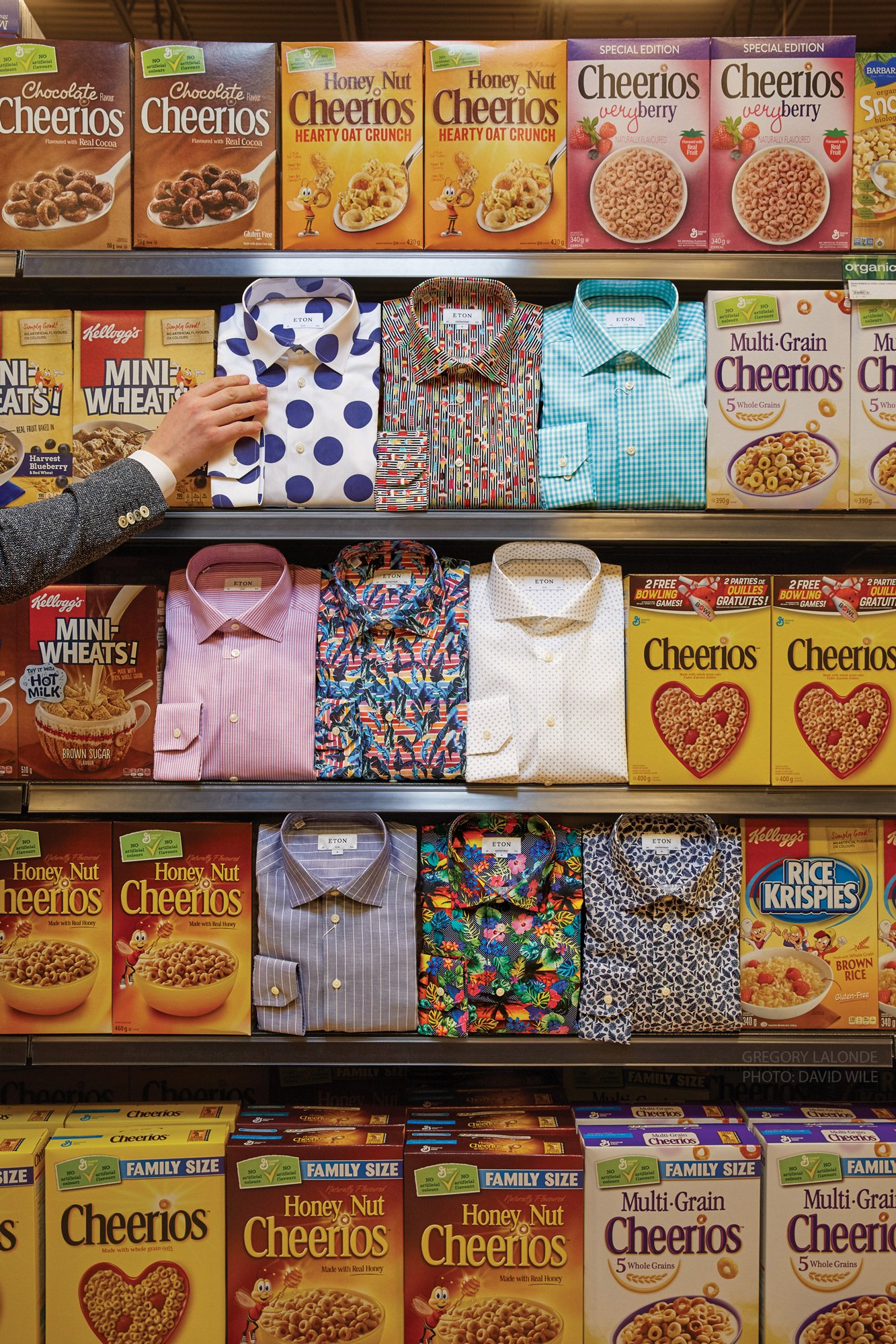 Eton Shirts Canada Lalonde's Cereal