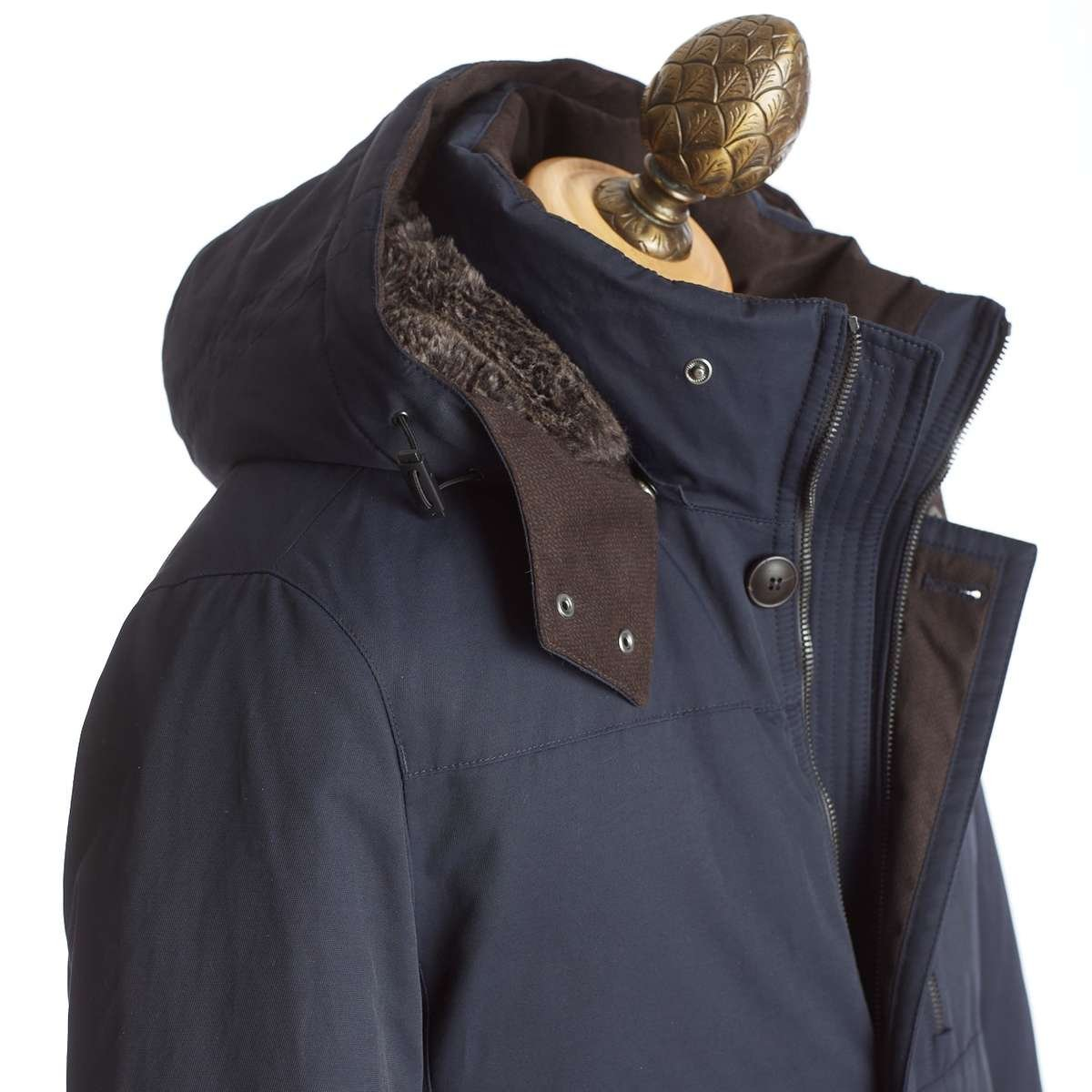 BUGATTI DOWN-FILLED HOODED PARKA