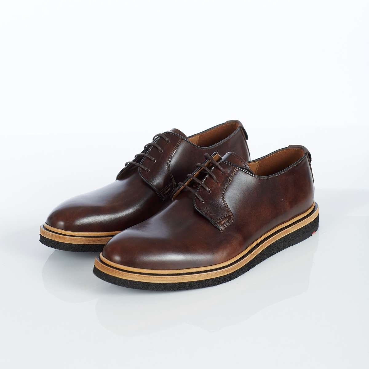 Lloyd Shoes 'Jannes' Macchiato Calf Derby Front