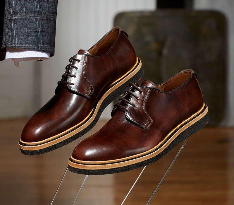 LLOYD Shoes 'Jannes' Wedge Sole Derbies - LALONDE's