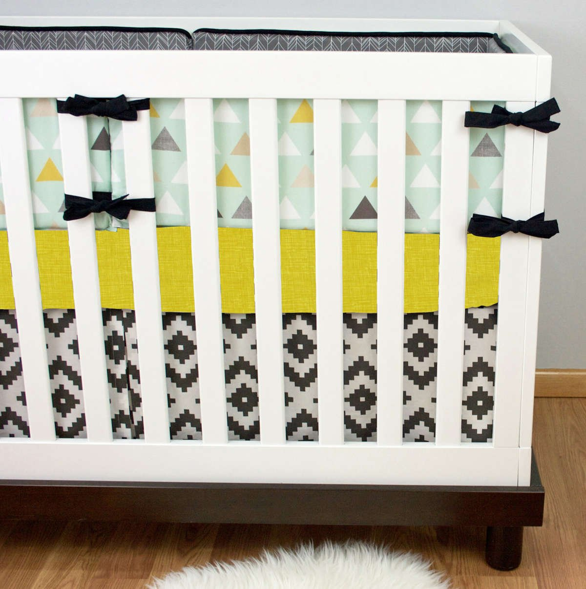 Tribal Crib Bedding | Aztec Nursery Decor | Tribal Nursery ...