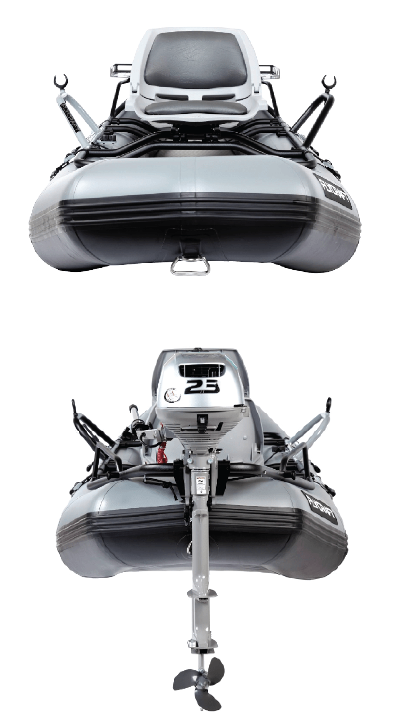 Drift Boat + Inflatable Fishing Boat = Stealth Boat