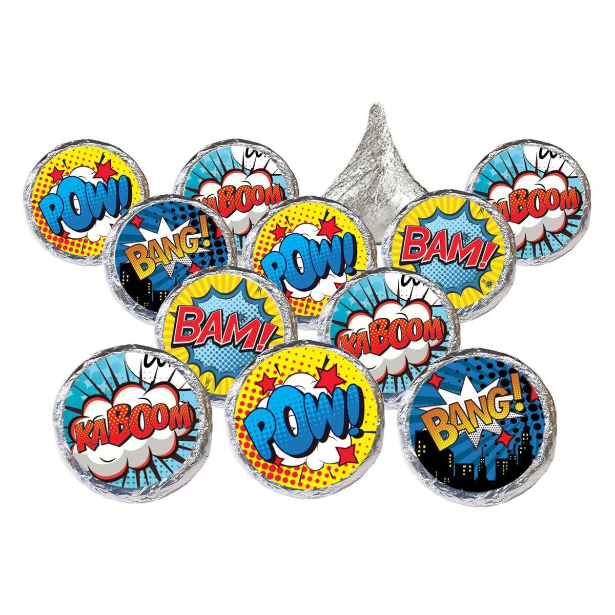 Superhero Comic Book Party