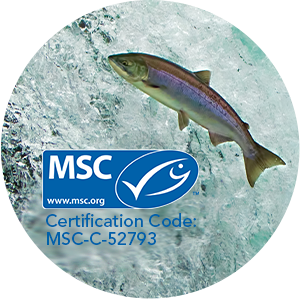 Marine Stewardship Council (MSC) Sustainable source for Omega-3 fatty acid supplements with wild-caught Alaska Pollock