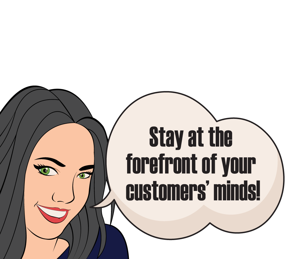 Stay in the forefront of your customers' minds with newsletter and email writing