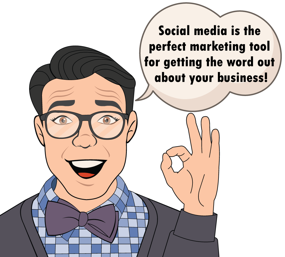 Our social media management services will help promote your business