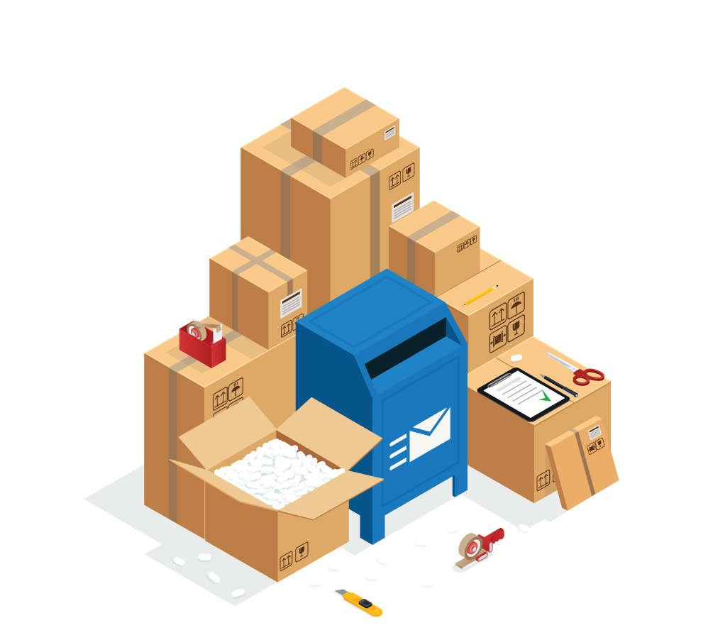 Shipping products after awesome Etsy marketing services