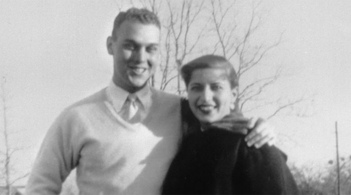 Marty Ginsburg and Ruth Bader circa 1953