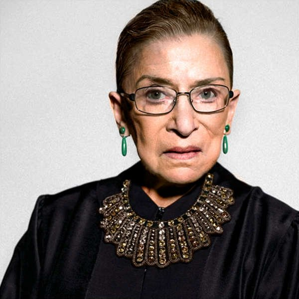 5ee10a348 Ruth Bader Ginsburg's Dissent Collar - Dissent Pins