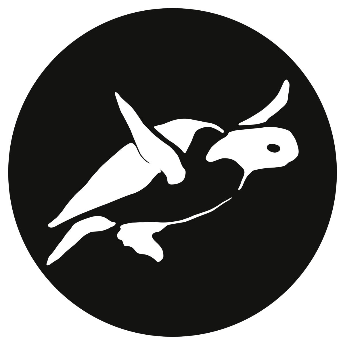 pure planet logo circle icon black