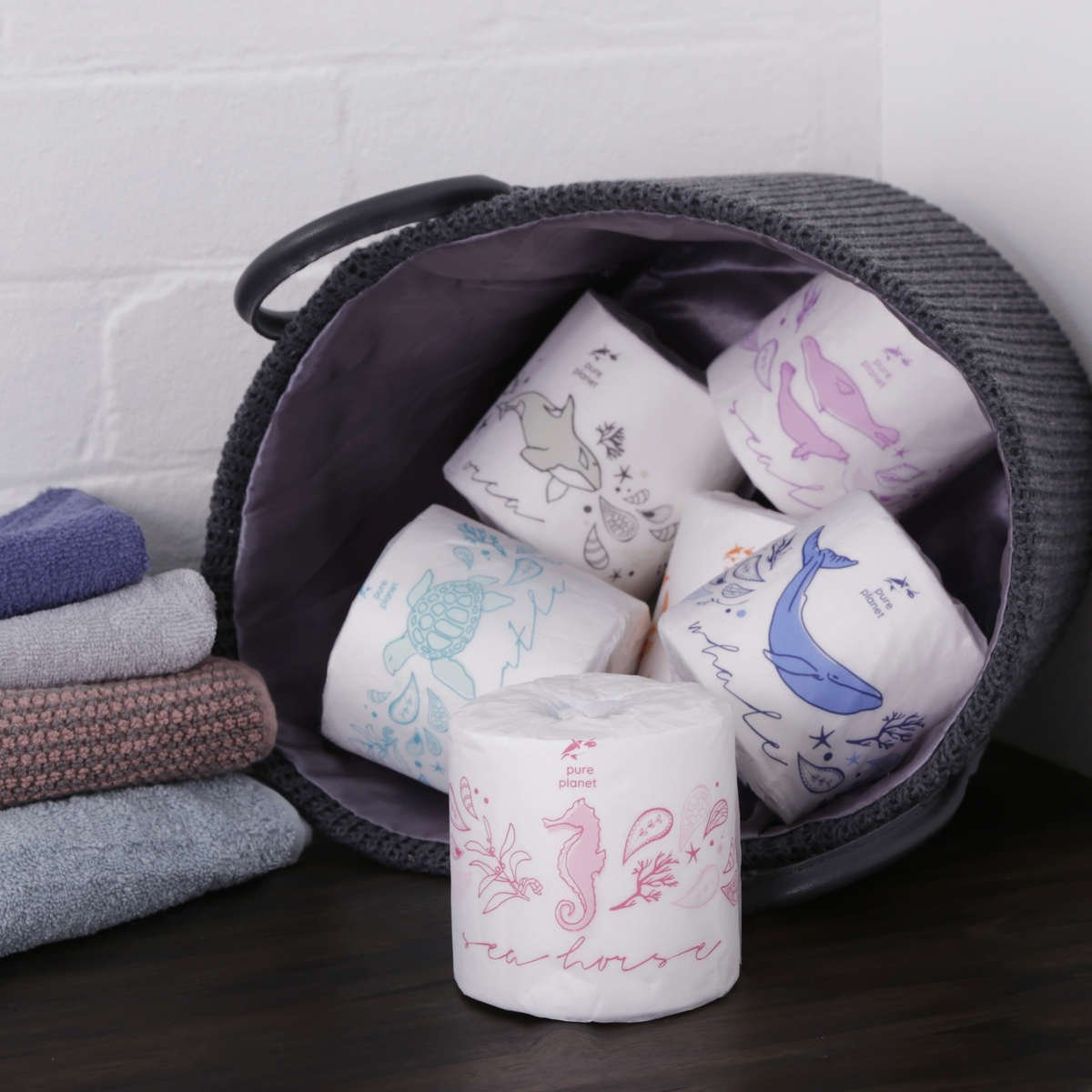 Pure Planet Tree-Free Toilet Tissue Rolls