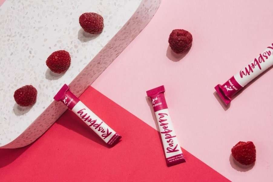 Raspberry Organic Lip Balm