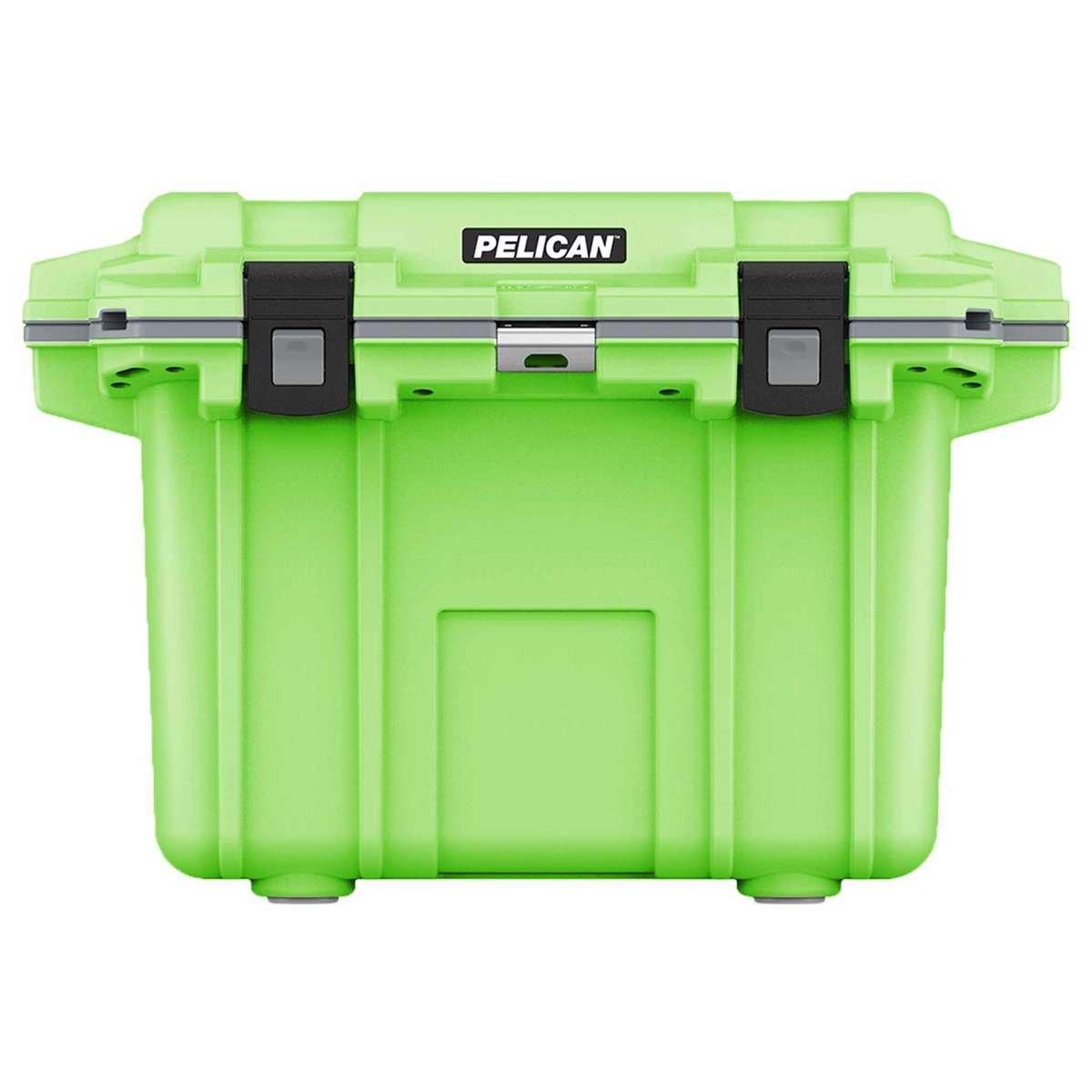 50QT Pelican Elite Cooler Lime Green/Grey