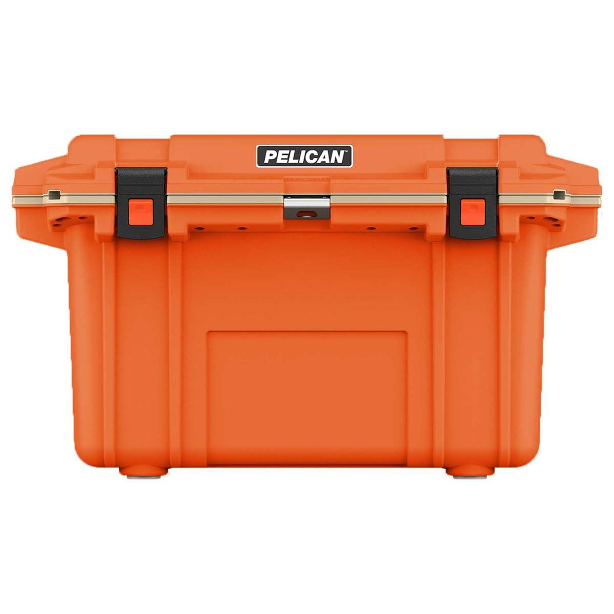 70QT Pelican Elite Cooler Orange/Tan