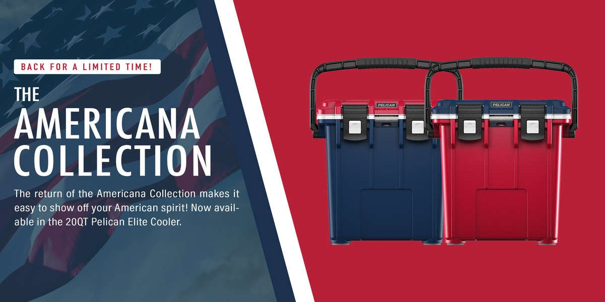 The Americana Collection is back for a limited time at elitecooler.com