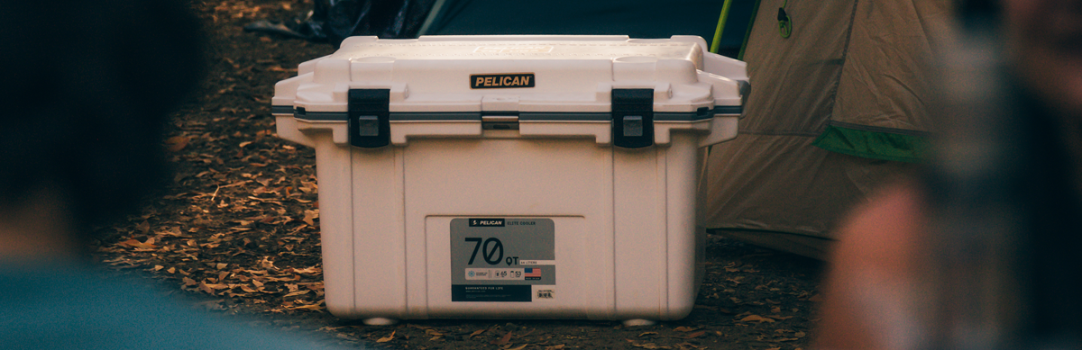 Pelican Elite Coolers feature unique press & pull latches unlike any other others on the market. These latches stay shut until you open, which you can do one-handed. No more struggling with difficult to use rubber latches. Last, but certainly not least for a vaccine transport cooler, Pelican Elite Coolers are made to be easy to clean. The polypropylene walls of the cooler are non-absorbent and easy to sanitize. And the built-in drain makes it much easier to give the cooler a deep clean when it needs one.