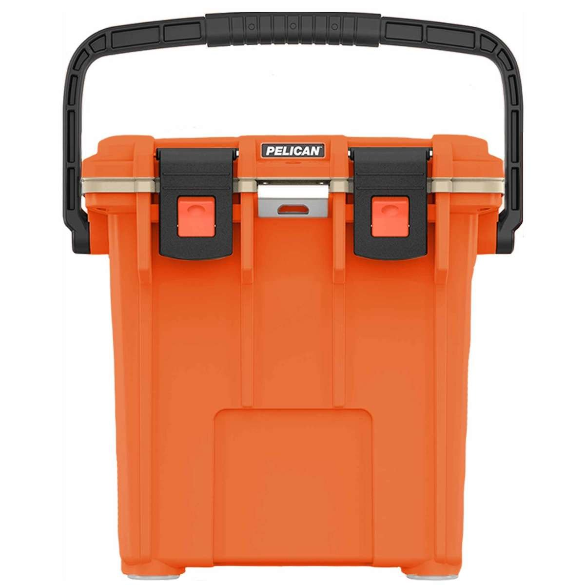20QT Pelican Elite Cooler Orange/Tan