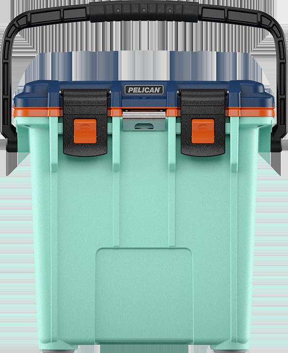 Seafoam/Orange/Pacific Blue Pelican™ Elite Cooler