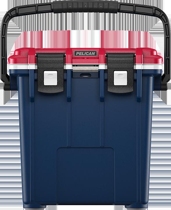 Blue/White/Red Pelican™ Elite Cooler
