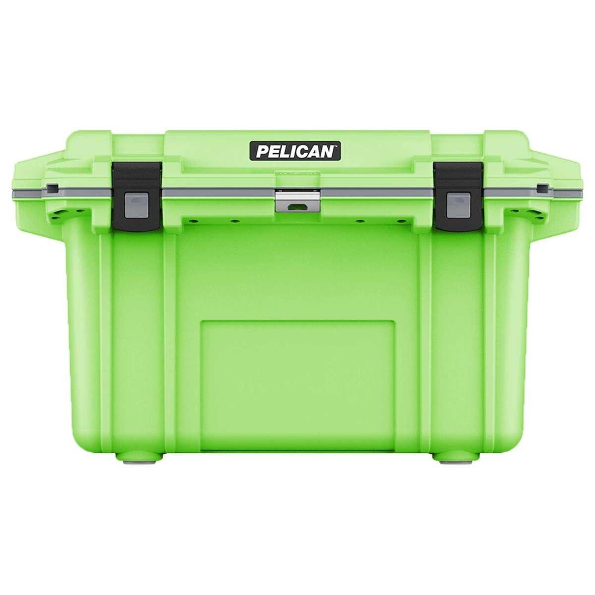 70QT Pelican Elite Cooler Lime Green/Grey