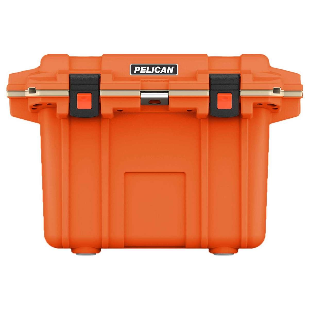 30QT Pelican Elite Cooler Orange/Tan