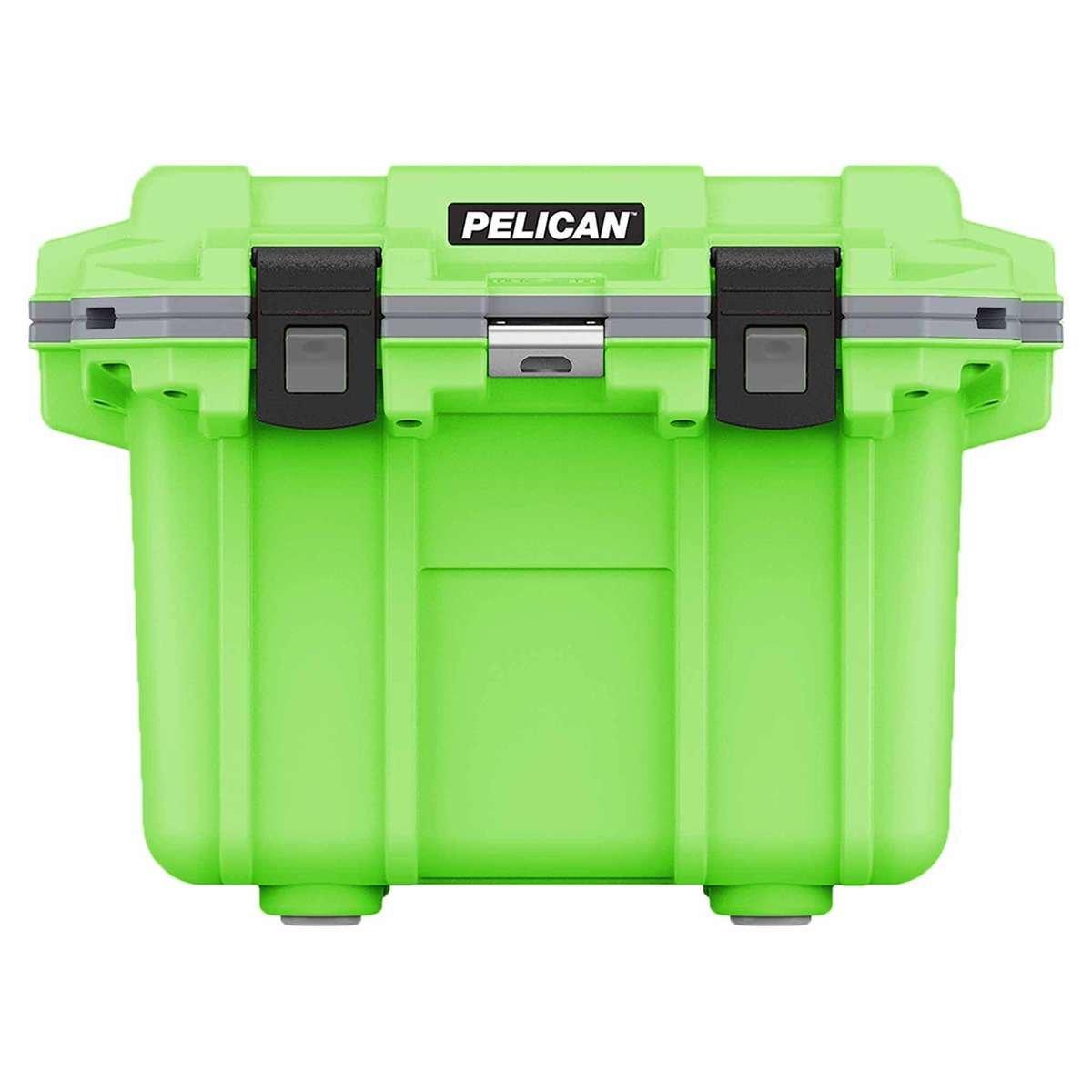 3QT Pelican Elite Cooler Lime Green/Grey