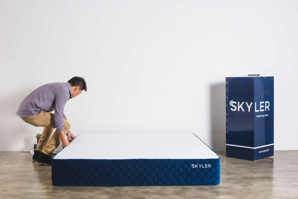 Setting up Skyler mattress