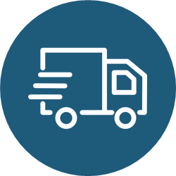 Free next day delivery icon