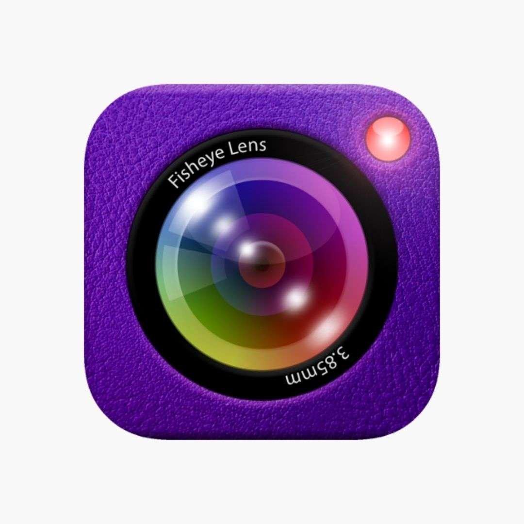 fisheye lens - lomo camera iphone app