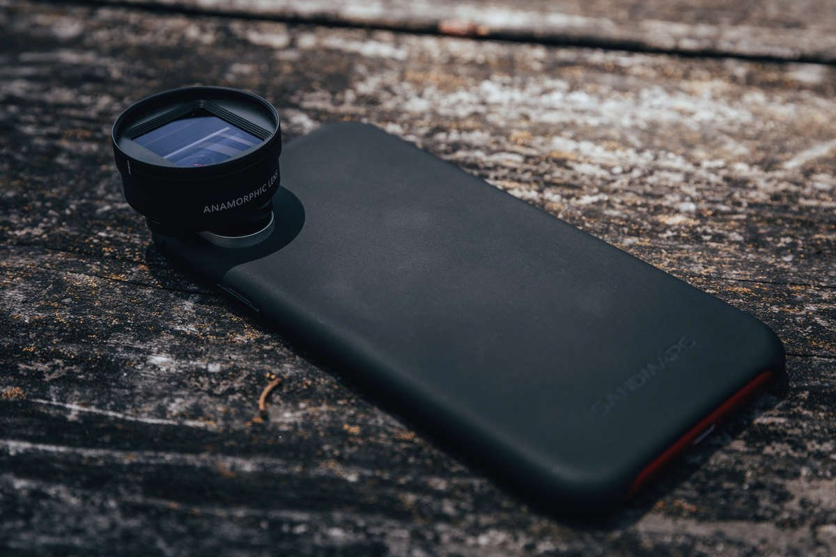 anamorphic lens for iphone