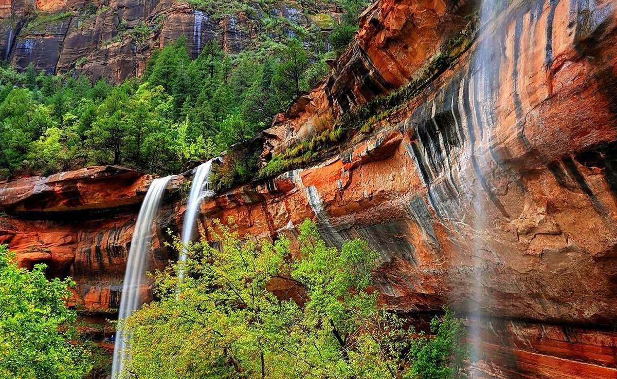 upper emerald pool trails zion national park utah