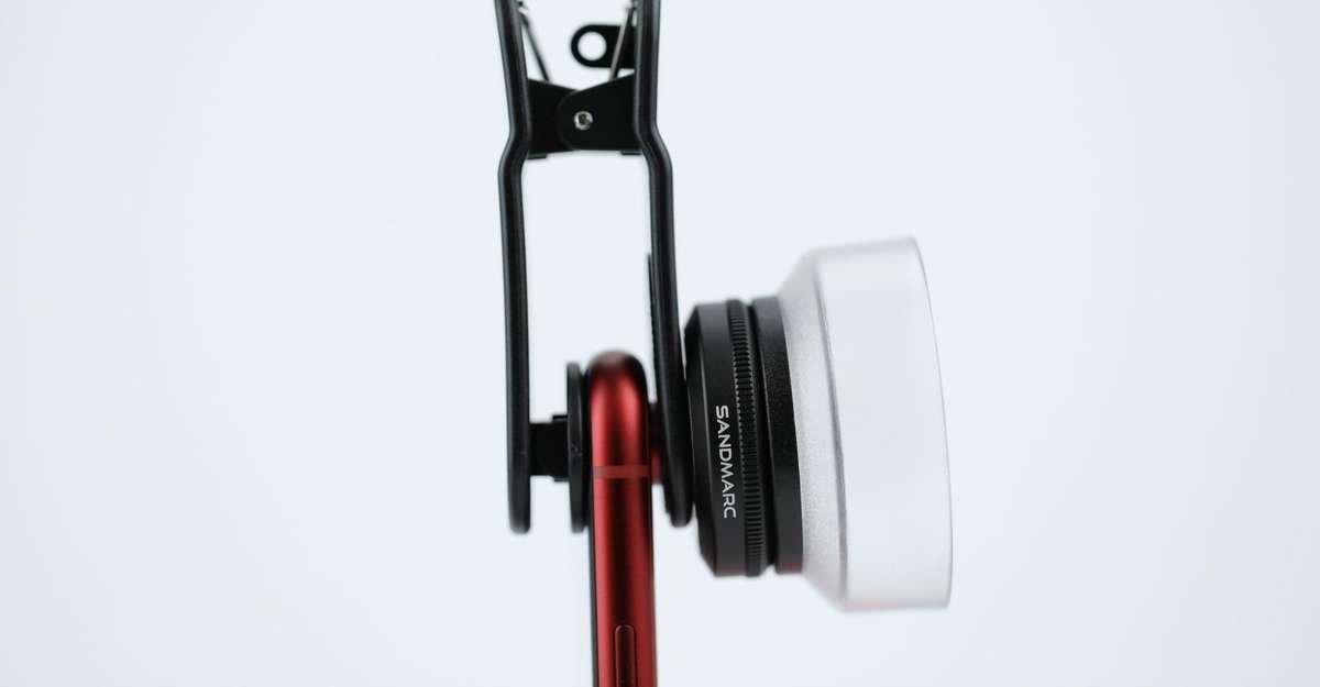 Macro Lens with lens hood by SANDMARC