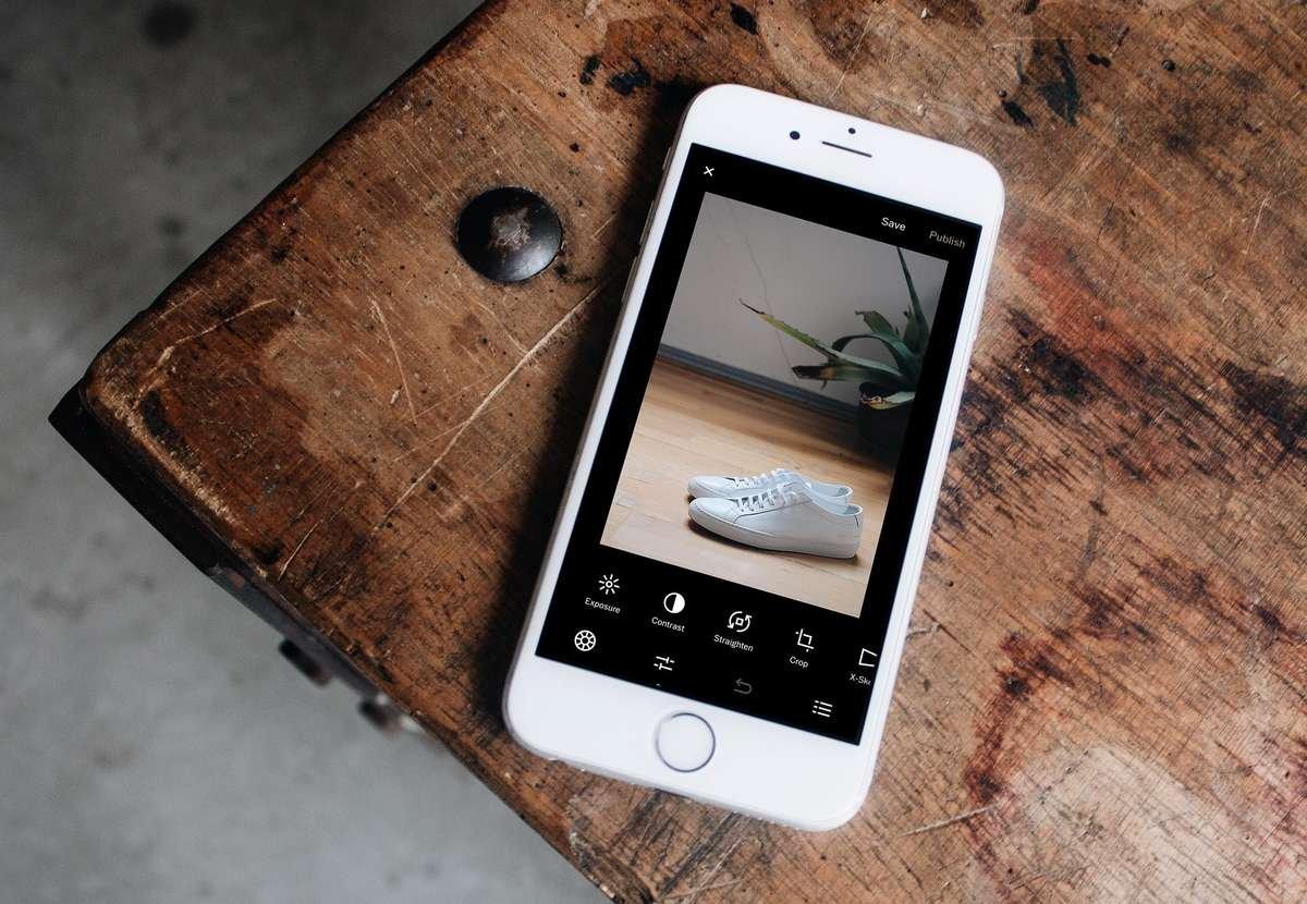 VSCO photo editing app for iPhone