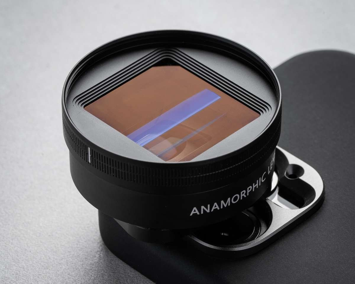 anamorphic lens attachment for iphone
