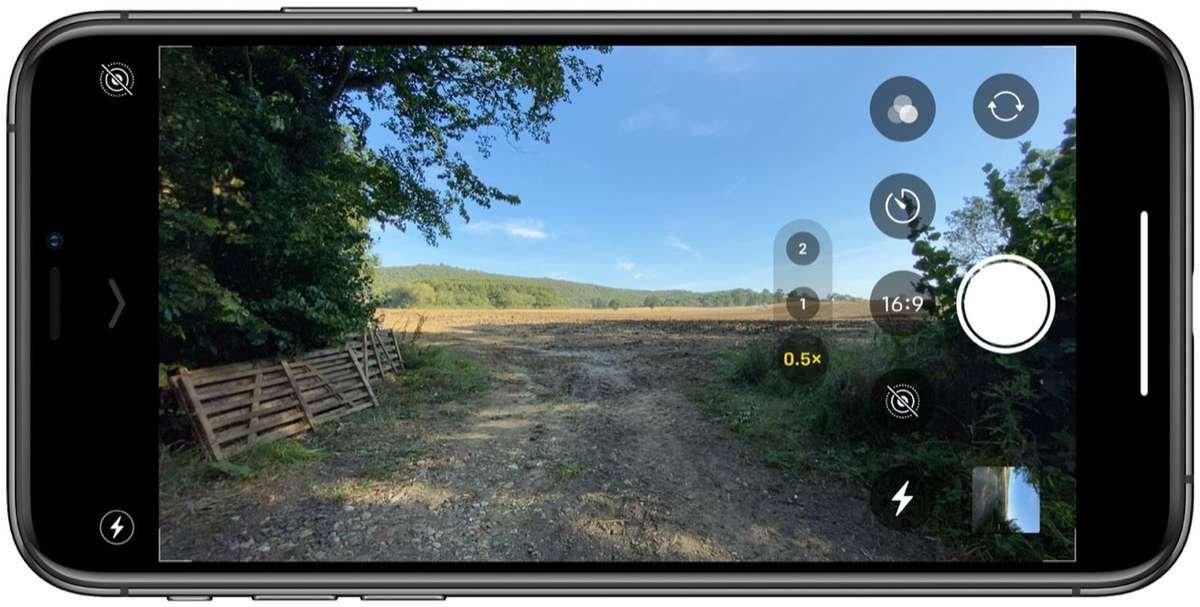 aspect ratios on iPhone