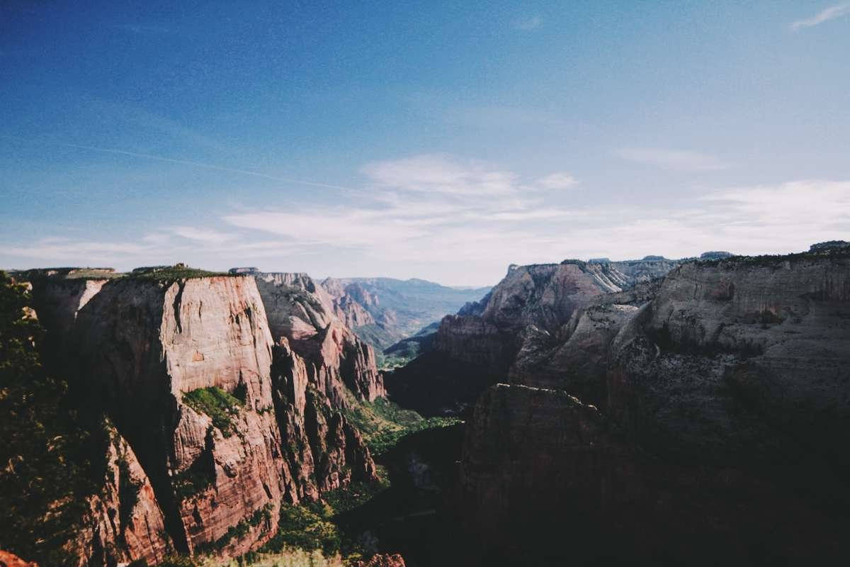Zion Observation Point Utah