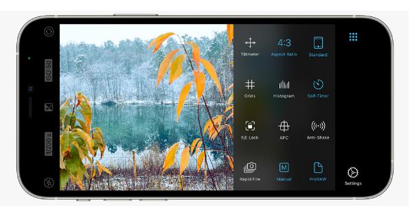 ProCamera app for IOS