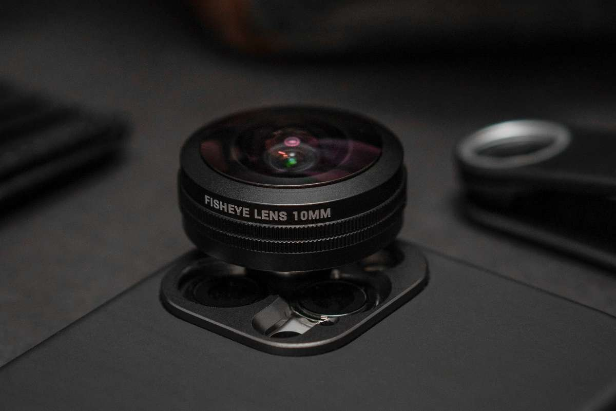 fisheye lens attachment for iphone